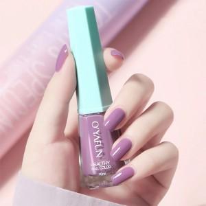 Cute Water Resistant Women Fashion Nail Polish 03 - Purple