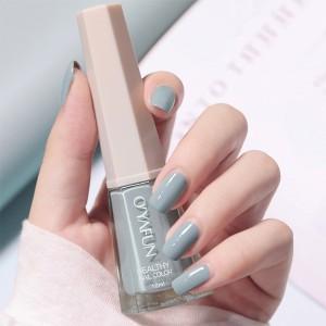 Cute Water Resistant Women Fashion Nail Polish 04 - Gray