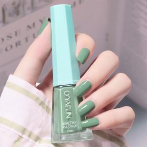 Cute Water Resistant Women Fashion Nail Polish 07 - Green