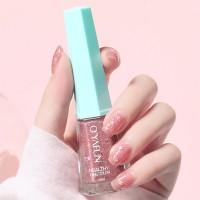 Glittery Cute Water Resistant Women Fashion Nail Polish 12 - Light Pink