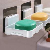 Creative Nordic Self Adhesive Soap dish - White