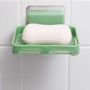 Creative Nordic Self Adhesive Soap dish - Green