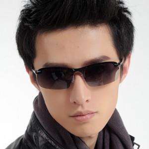 Men Fashion Polarized Sunglasses - Black Gary