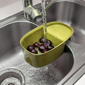 Multifunctional Drain Box For Vegetable And Fruit Washing Basket