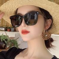 Trend High Quality Square Shape Sunglasses - Black