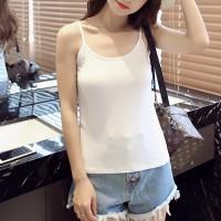 Women Casual Wear Cotton Fabric Top T Shirt -White