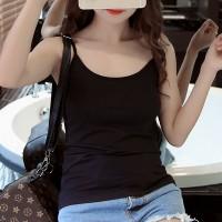 Women Casual Wear Cotton Fabric Top T Shirt -Black