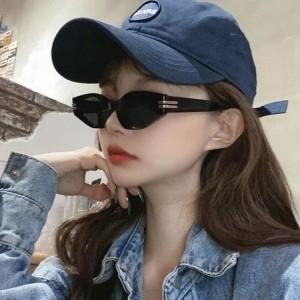 Decoration Frame Fashion Steam Punk Sunglasses  - Black