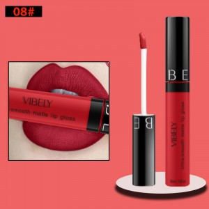 Non Fading Womens Fashion Retro Matte Lip Gloss #8