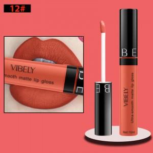 Non Fading Womens Fashion Retro Matte Lip Gloss #12