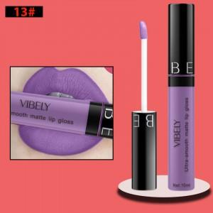 Non Fading Womens Fashion Retro Matte Lip Gloss #13