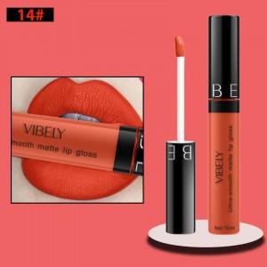 Non Fading Womens Fashion Retro Matte Lip Gloss #14