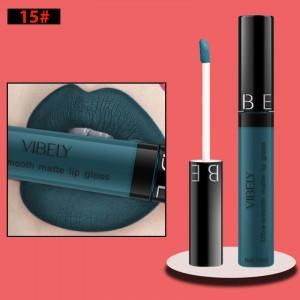 Non Fading Womens Fashion Retro Matte Lip Gloss #15