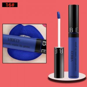 Non Fading Womens Fashion Retro Matte Lip Gloss #16