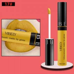 Non Fading Womens Fashion Retro Matte Lip Gloss #17
