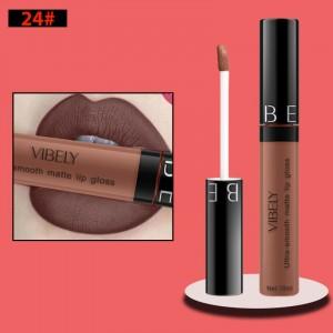 Non Fading Womens Fashion Retro Matte Lip Gloss #24