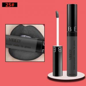 Non Fading Womens Fashion Retro Matte Lip Gloss #25