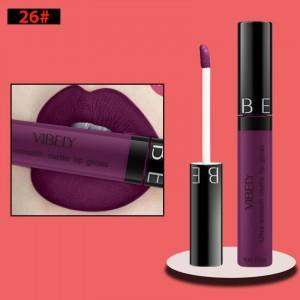 Non Fading Womens Fashion Retro Matte Lip Gloss #26