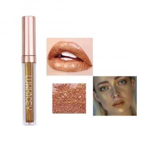 Long Lasting Solid Color Mermaid Lip Gloss 02 - Orange