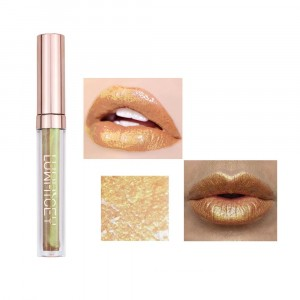 Long Lasting Solid Color Mermaid Lip Gloss 03 - Coral Orange