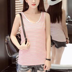 Women Casual Wear Cotton Fabric Top - Red