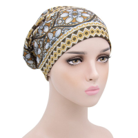 Fitted Head Wear Women Fashion Head Band -  Yellow Gold