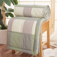 Square Printed Bedding High Quality Soft Quilt - 2 Meters
