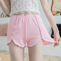 Elastic Waist Casual Wear Women Bottom Shorts - Pink