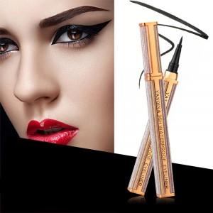 Long Lasting Waterproof Cool Black Eye Makeup Eyeliner - Black