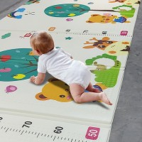 Foldable Kids Crawling Mat Toddler Foam Play Pad Educational Gift Toy