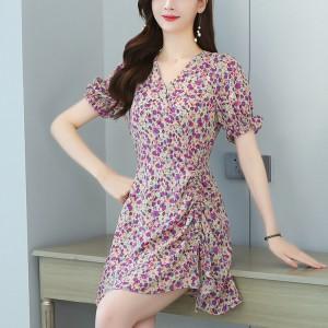 High Quality New Design Clothing Custom Dress - Purple