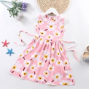 High Quality Fancy Clothing Beautiful Girls Dresses - Light Pink