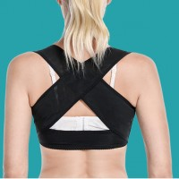 Ultra Thin Back Special Invisible Correction Belt - Black
