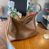 Synthetic Leather Wide Space Women Fashion Casual Bags - Brown