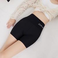 High Waist Elastic Waist Stretchable Body Shaper Underwear - Black