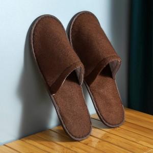 Disposable Thin Bottom For Hospitality Home Travel Salon Kitchen Portable Slipper - Coffee