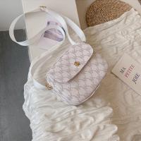 Small Size Women Crossbody Messenger Bag - White