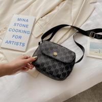 Women Crossbody Messenger Bag - Grey