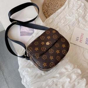 Women Crossbody Messenger Bag - Brown