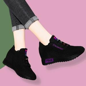 Mesh Light Wear Sports Wear Women Sports Sneakers - Purple