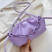 Small Size Women Fashion Crossbody Messenger Bags - Purple