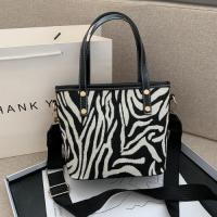 Small Size Woman Fashion Crossbody Bag - Animal Print