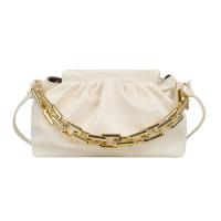 X Small Size Woman Fashion Chain Crossbody Messenger Bag - White