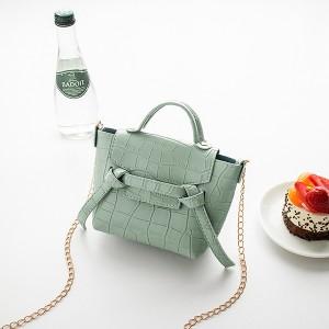 Animal Pattern Chain Strap Cute Messenger Bags - Green