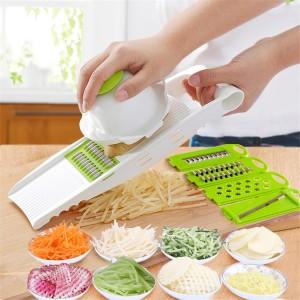 Multifunctional Vegetable Shredding Planer Slicer - White