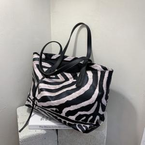 X Large Size Ladies Fashion Shoulder Bag - Animal Print