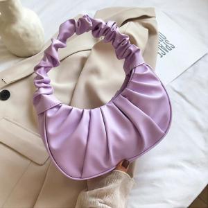 Small Size Ladies Fashion Shoulder Bag - Purple
