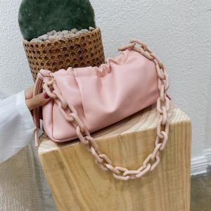 Small Size Ladies Fashion Crossbody Messenger Bag - Pink