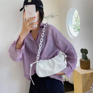 Small Size Ladies Fashion Crossbody Messenger Bag - White