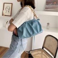 Medium Size Ladies Fashion Crossbody Bag - Blue